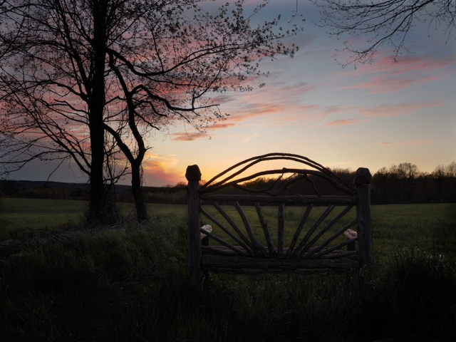 Best seat in the house, Roxbury, Connecticut © Steven Willard