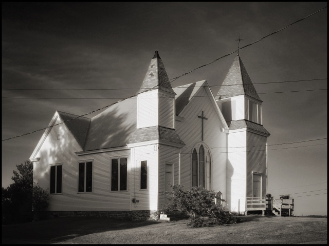 Peru Congregational Church, Massachussetts © Steven Willard